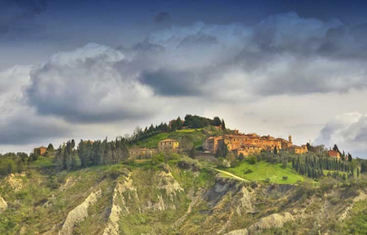 private full day tour of Volterra and San Gimignano