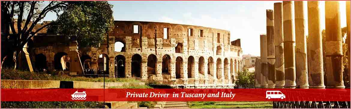 Private Driver Guide in Italy from the cruise ship